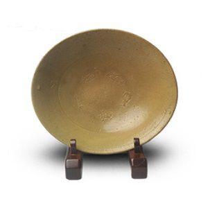 高麗青磁平茶碗