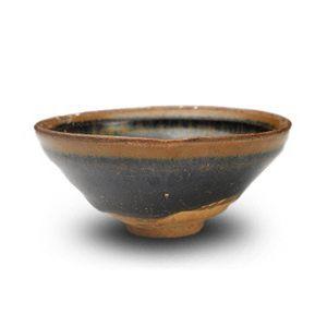 禾天目茶碗古陶器中国宋