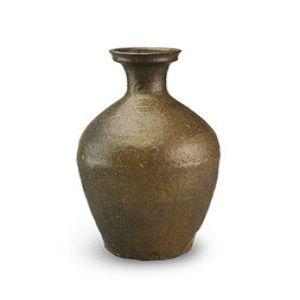 高麗陶器黒高麗瓶