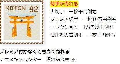 アニメシール切手