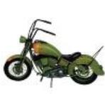 ブリキのバイク
